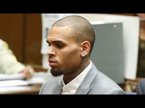 Chris Brown Arrested on Warrant (March 16th, 2014)