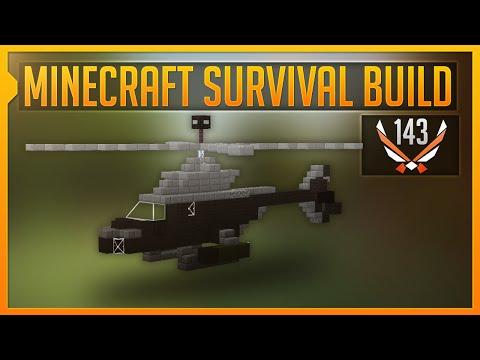 EEN HELICOPTER - Minecraft Survival Build #143