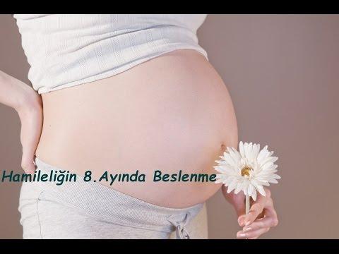 Hamileliğin 8. Ayında Beslenme