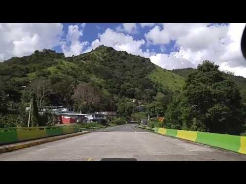Comerio Centro a la Represa de Comerio,Puerto Rico