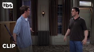 Friends: Joey and Chandler Get Robbed (Season 4 Clip) | TBS