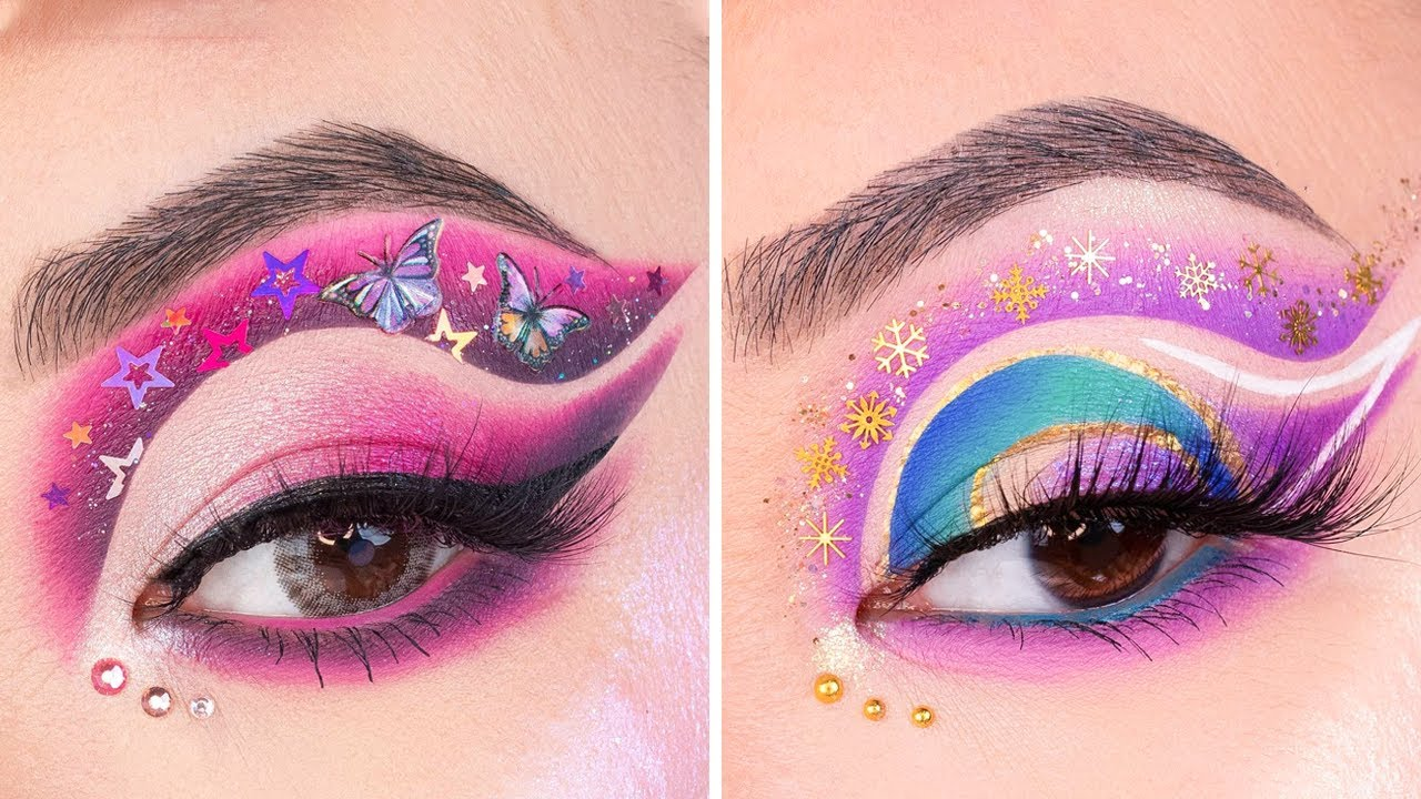15+ Amazing Eyes Makeup Looks And Tutorials By Nail Tube | Compilation Plus