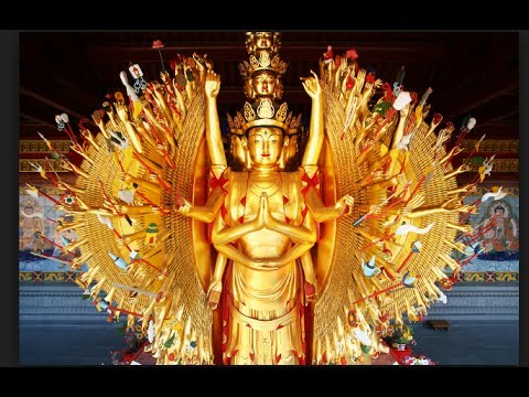 Chenrezey Avalokitesvara  Mantra one Hour HD