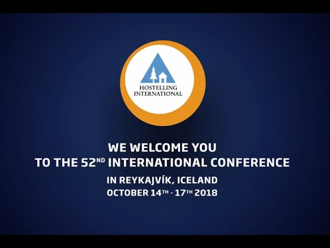 The 52nd Hostelling International Conference in Reykjavik Ic