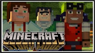 Minecraft STORY MODE | I'M A LOSER! | Order Of The Stone Episode 1 [1/3]