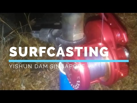 Yishun  Dam - Surfcasting Night - By PATV Productions