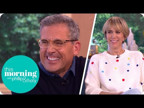 Steve Carell and Kristen Wiig Still Love Working Together | This Morning