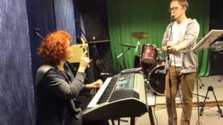 Урок эстрадно-джазовый вокал 1 часть