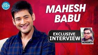 Mahesh babu exclusive interview || talking movies with idream # 162 || #brahmotsavam