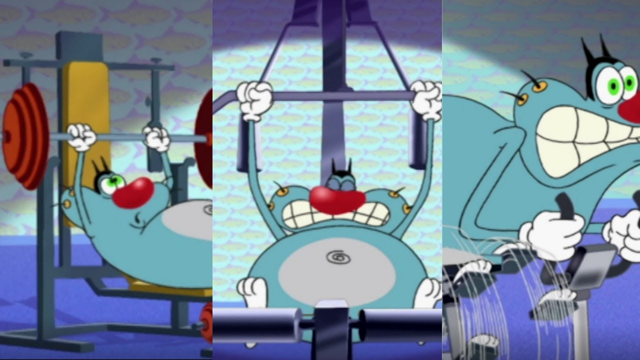 Download Oggy and the Cockroaches - OGGY'S DIET  (S01E29) Full Episode in HD