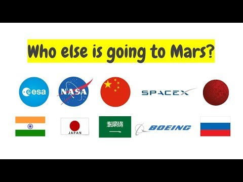 SpaceX vs. NASA vs. China, Who will Land the First Man on Mars?
