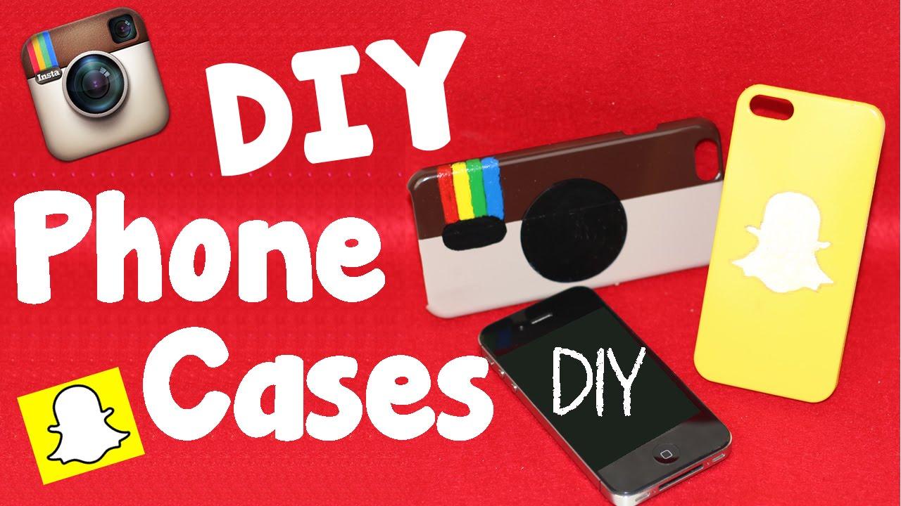 huge discount 5b34c a2262 DIY Crafts: 2 Easy DIY Phone Cases – Instagram & Snapchat Phone Case ...