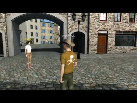 3D Chat Online MMO Virtual Game - Old City - www.3dchat.com
