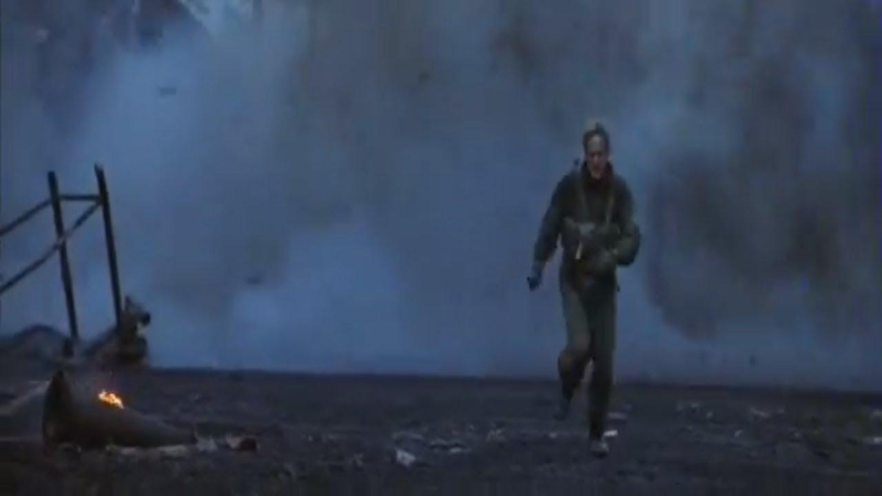 Behind Enemy Lines - Land Mine scene.