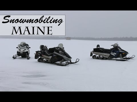 Snowmobiling Maine [Part 1]