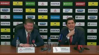 ЦСКА – «Авангард». Второй матч. Послематчевая пресс-конференция