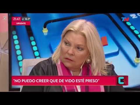 """Carrió sobre Maldonado: """"Lo mató el Gobierno, crimen de Estado"""""""