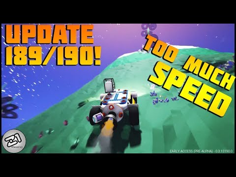 Astroneer Update 189 190 ! SUPER JET !!! Lets Play Astroneer Gameplay Z1 Gaming