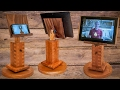 How to make an adjustable and rotating cell phone tablet stand
