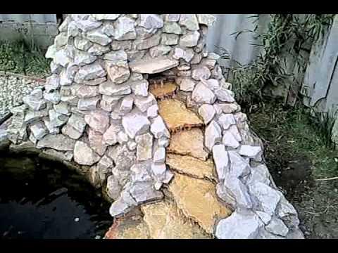 Tiszta vizű kerti tó készítése házilag  Doovi