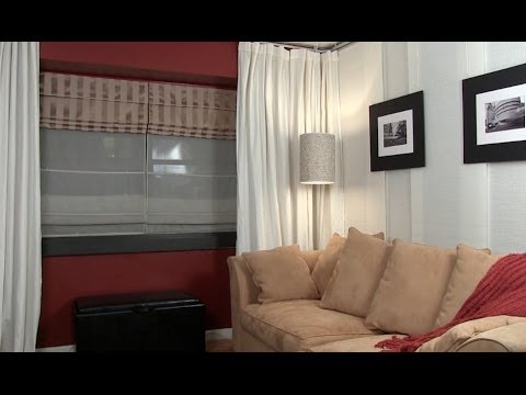 How To Install A Hanging Room Divider: Ikea Kvartal Track