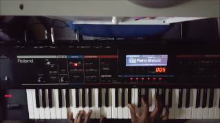 west coast style gospel piano chords