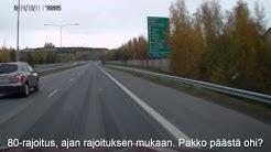Liikennettä PK-seudulla ja Tampereen seudulla