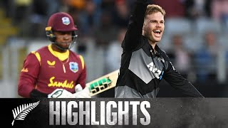 Ferguson 5-21, Pollard 75* in Eden Park Thriller | BLACKCAPS v West Indies | KFC T20I 1 2020