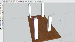 Pallet Coffee Table Sketchup