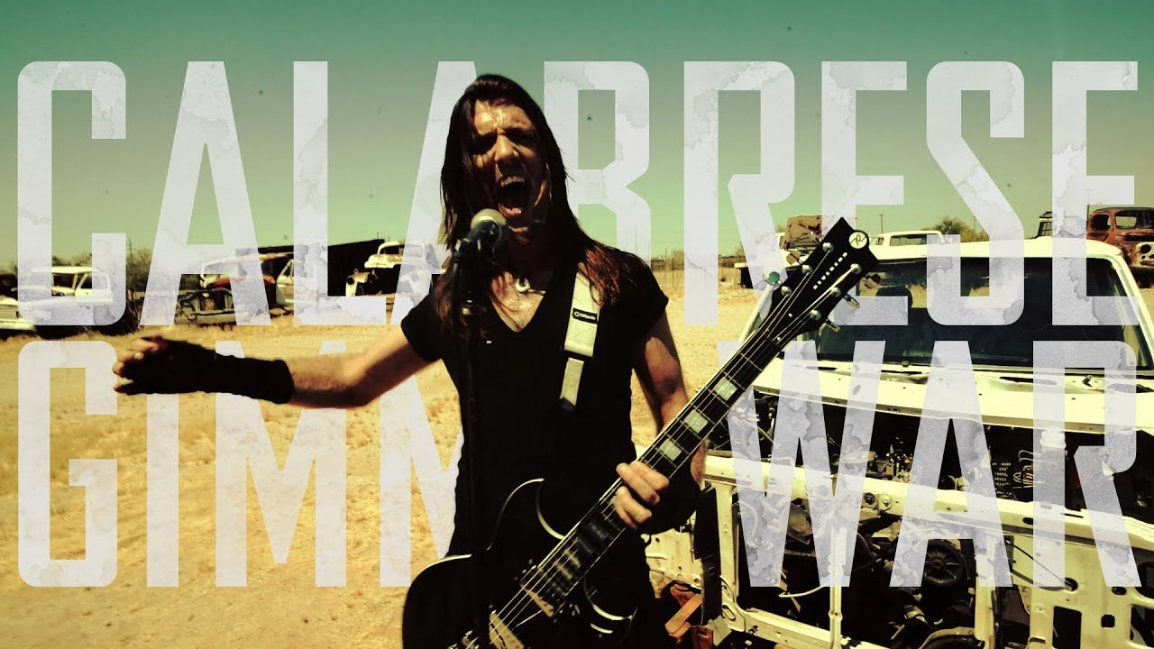 calabrese gimme war official video - Calabrese 13 Halloweens