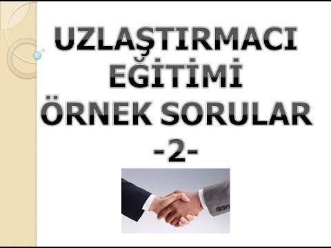 UZLAŞTIRMACI EĞİTİMİ SORULARI 2. VİDEO İLETİŞİM (SESLİ)