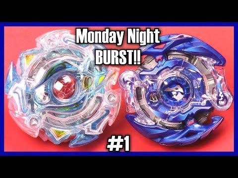 Monday Night BURST!! (MNB #1) Custom Beyblade Burst Battle