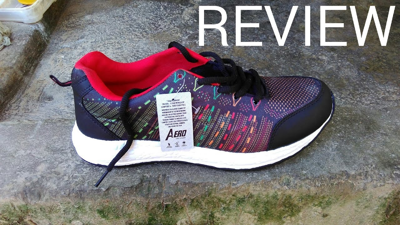 3f48352be0ea49 Aero AMG Performance Running Shoes Review  Running Shoes Under Rs ...