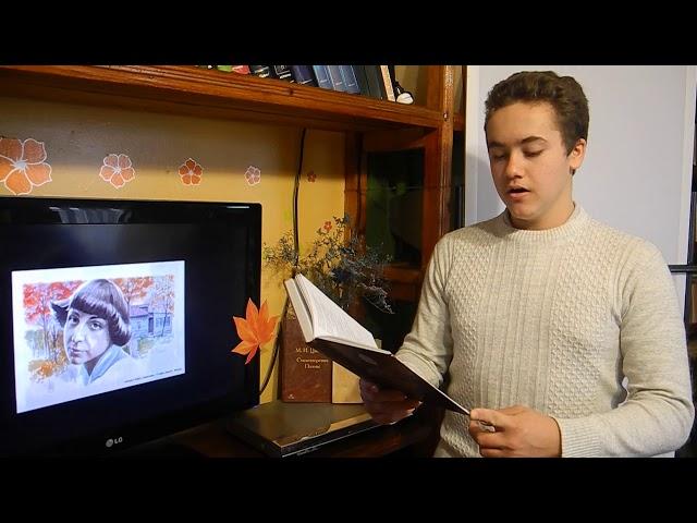 Изображение предпросмотра прочтения – ДмитрийБилас читает произведение «Тверская» М.И.Цветаевой