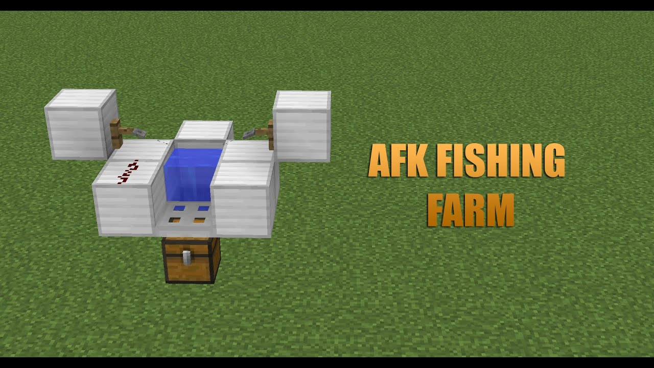 afk fishing minecraft xbox one
