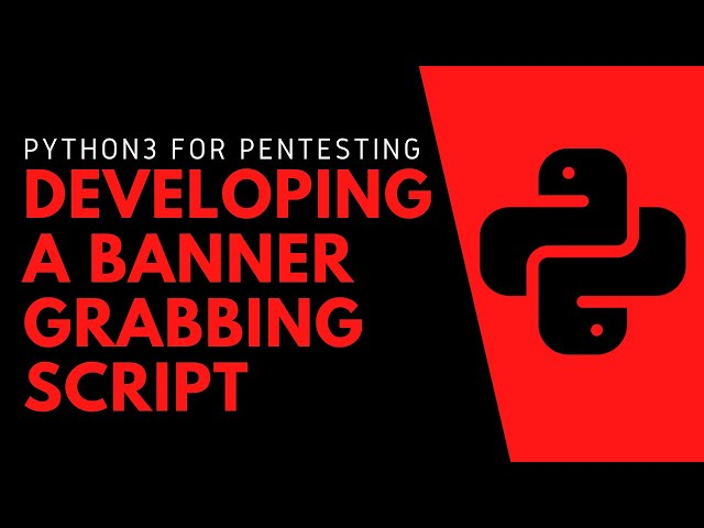Python For Penetration Testing - Developing A Banner Grabber