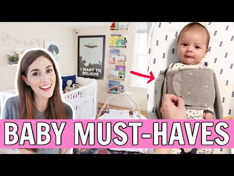 MUST-HAVE BABY AND NEWBORN PRODUCTS | Baby Registry Essentials