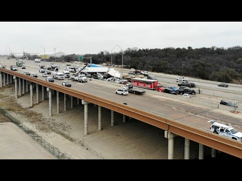 Hear Fort Worth first responders' radio chatter as I-35W pileup began