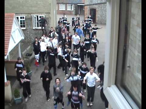 baker dance - around Greshams school