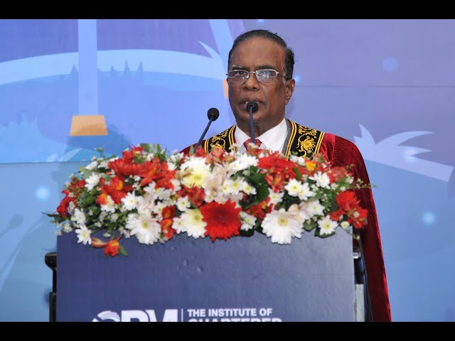 CPM Sri Lanka Annual Convocation 2021_Chief Guest Address by Justice K Sripavan