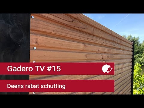 #15 Dichte schutting maken met Deens rabat