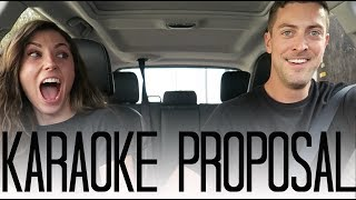 SURPRISE Carpool Karaoke Proposal!