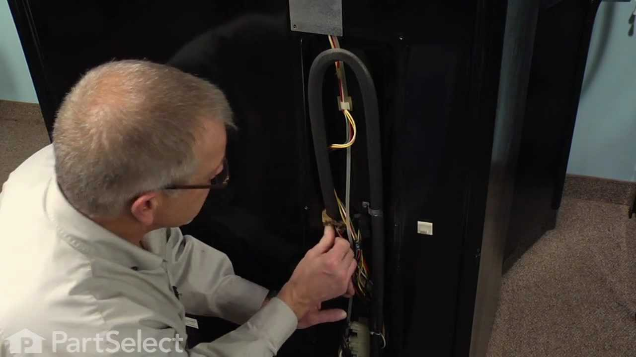hight resolution of refrigerator repair replacing the bimetal defrost thermostat whirlpool part r0161088 youtube