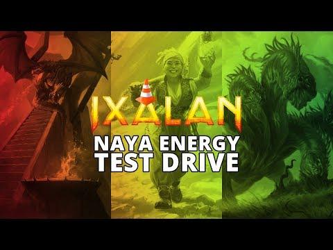 Naya Energy Ixalan Standard Test Drive | MTGO Stream