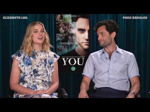 Penn Badgley & Elizabeth Lail talk about YOU on Lifetime