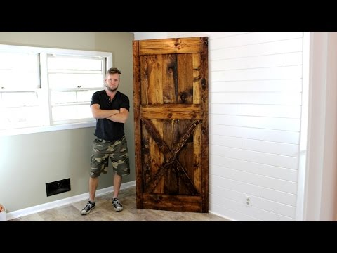 The $40 Barn Door   Easy DIY Project