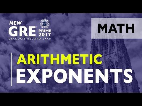 GRE | Arithmetic - Exponents | GRE Test Prep | ArgoPrep | GRE Math