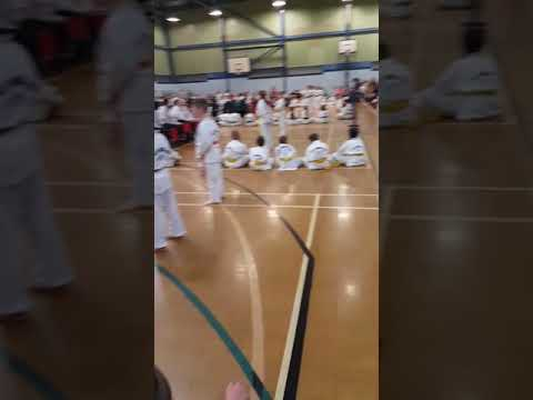 Tai-kwando orange belt