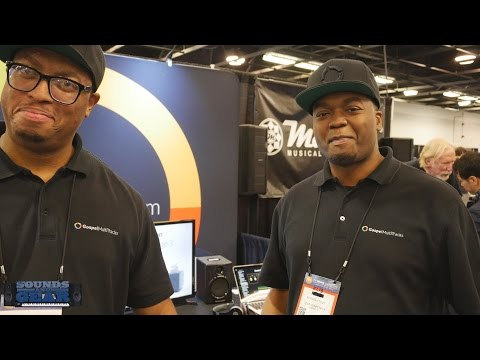 NAMM 2017 Gospel Multitracks & Prime Playback App - YouTube