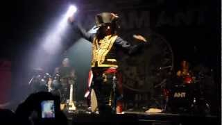Adam Ant - Beat My Guest (live at the O2 Academy, Bristol - 16/11/2012)